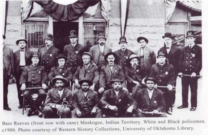 Indian Territory Police c1900