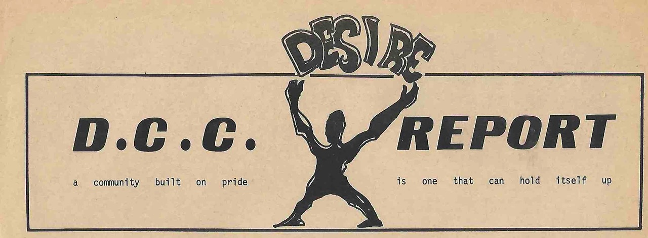 Mr. Pride was the logo used in the Desire Community Center Newspaper