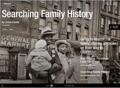 Guide to researching family history